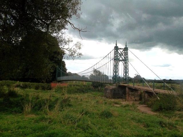 Iron Footbridge near Doveridge