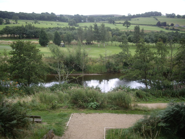 Access to the Coquet riverside path