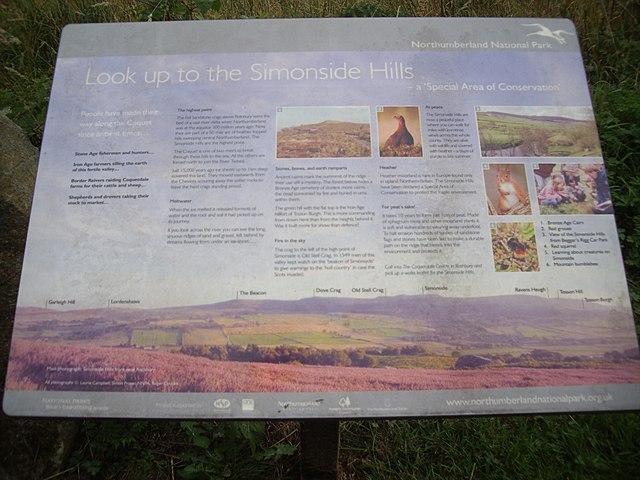Northumberland NP; Simonside Hills