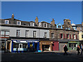 NT2473 : Queensferry Street shops by Stephen Craven