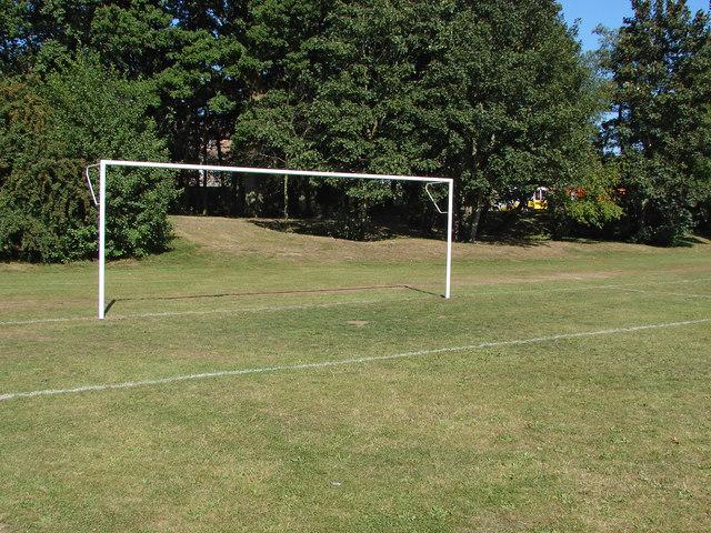 Goalposts, Allsmoor playing fields