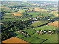 NS3824 : Brickrow Holdings at St Quivox by M J Richardson