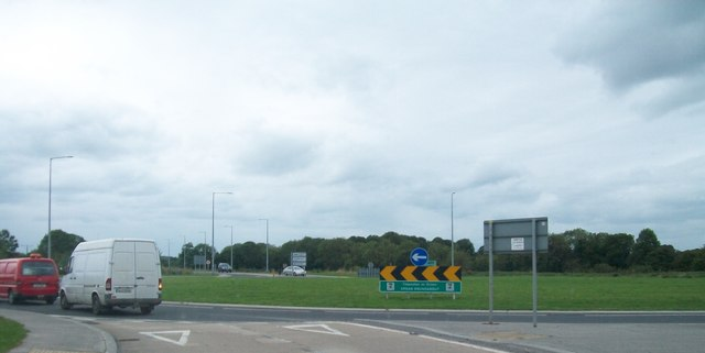 Ardan Roundabout on the N52 Tullamore Bypass