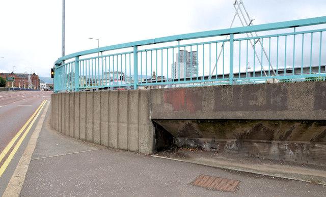 Station Street/Bridge End flyover, Belfast (13 in 2013)