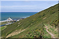 SN5880 : Path up Pendinas by Ian Capper