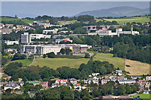 SN5981 : National Library of Wales and Aberystwyth University by Ian Capper