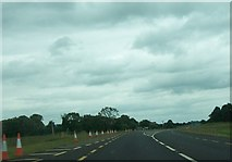 N4142 : The N52 approaching the cross roads with the L1127 by Eric Jones
