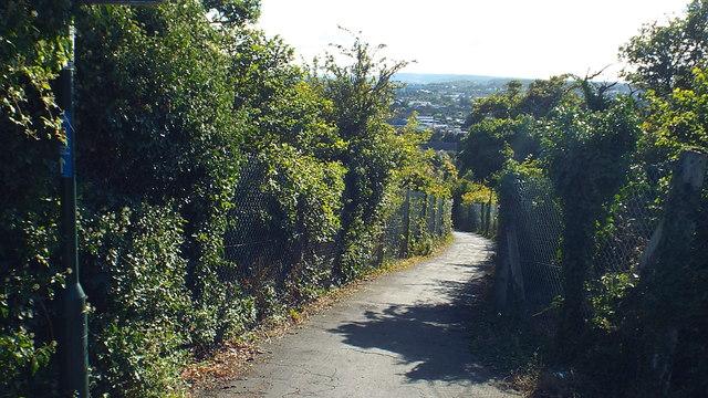 Steep path, Strood