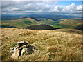 SD6498 : Cairn on Fell Head (623m) by Karl and Ali