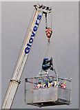 J3474 : River Lagan rescue training, Belfast (1) by Albert Bridge