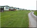 NY1365 : National Cycle Network at Queensberry Bay Holiday Park by Oliver Dixon