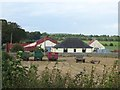 NY1766 : Farm trailers at Howes Smallholdings by Oliver Dixon