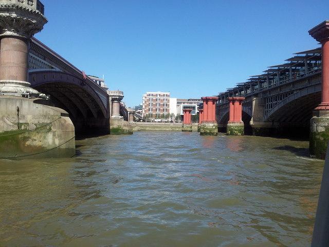 The Blackfriars Bridges