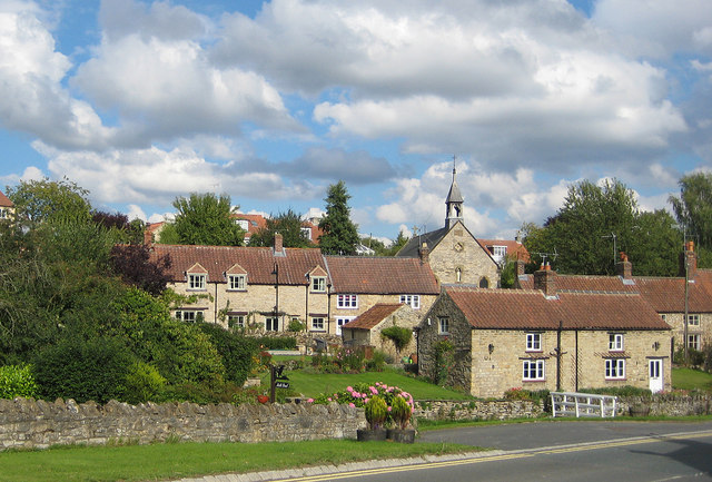 An attractive corner of Helmsley