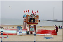 SY6879 : Punch & Judy, Weymouth Beach by N Chadwick