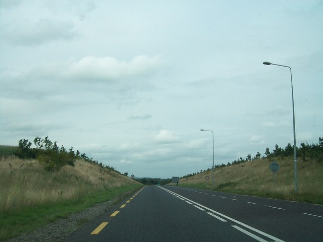The N52 Kells Bypass north of the Cavan Road roundabout