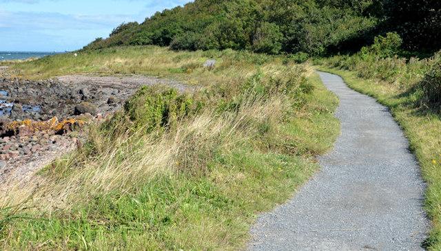 The North Down coastal path, Helen's Bay