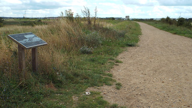 Path on Crayford Marshes