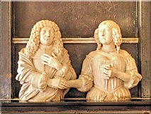 SK9239 : John and Alice Brownlow Memorial, Belton Church by David Dixon
