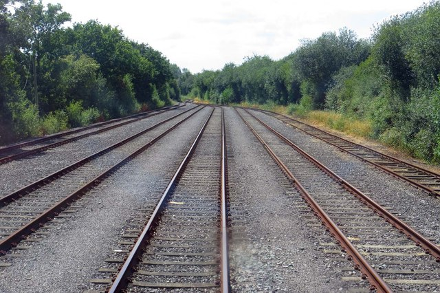 Holding sidings in MOD Bicester
