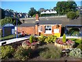 SU8693 : Small Garden at the Station by Des Blenkinsopp