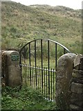 NY9393 : A pedestrian gateway to the Mote Hills, Elsdon by Stanley Howe