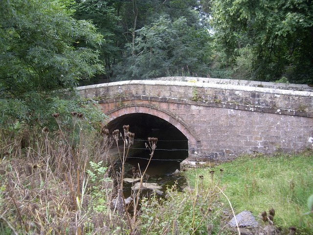 Former Road Bridge over Elsdon Burn