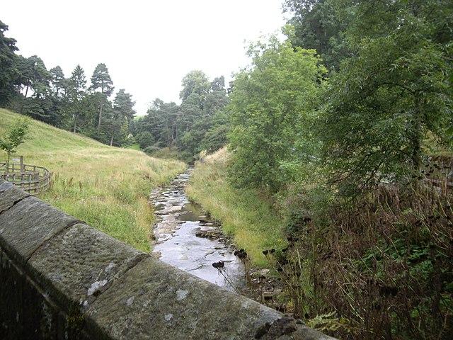Upstream Elsdon Burn