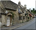 ST8477 : Western side of The Street, Castle Combe by Rob Farrow