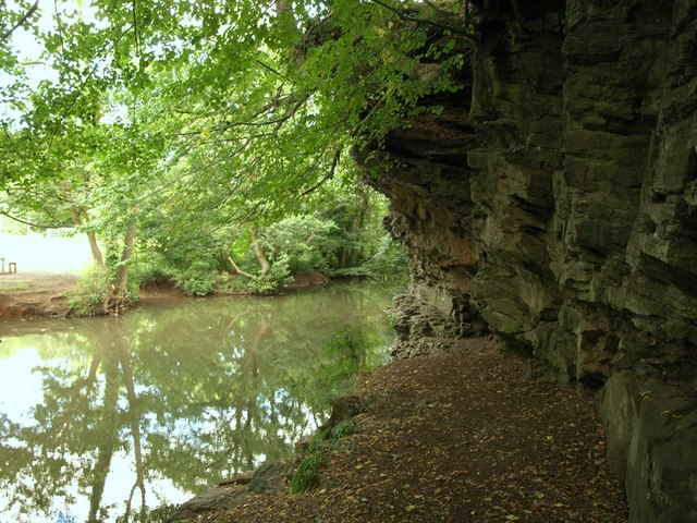 Cliff by the Frome