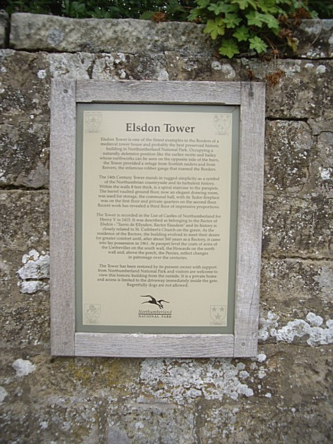 History of Elsdon Tower