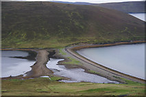 HU4472 : South Ayre, Fora Ness, Dales Voe by Mike Pennington