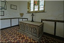 TF3579 : Interior of the Church of St Michael, Burwell by Dave Hitchborne