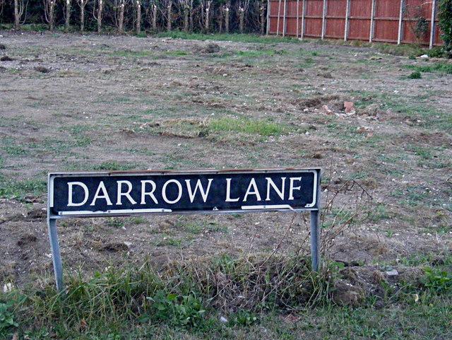 Darrow Lane sign