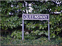 TM1080 : Queensway sign by Adrian Cable