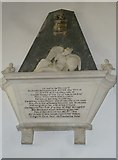 ST3505 : Forde Abbey Chapel: memorial (a) by Basher Eyre