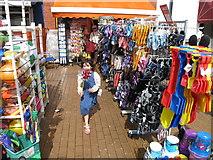 TQ3003 : Bucket and spade shop, Brighton beach by David Hawgood