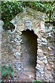 TG1130 : Corpusty Mill - Grotto Entrance by Alan Terrill