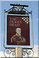 TM4797 : Duke's Head sign by Richard Croft