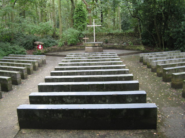 Open air chapel at Silverwood Scout Campsite