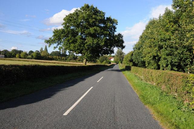 Clattercut Lane, near Rushock