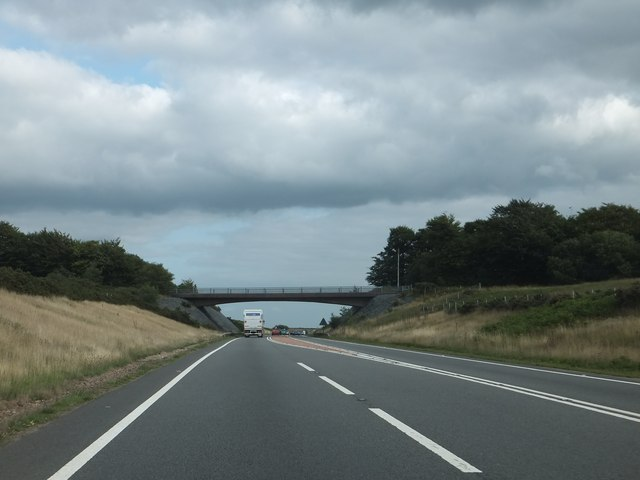 Bridge over A361 on Hares Down