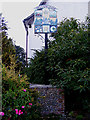 TM0881 : Bressingham Village sign by Adrian Cable
