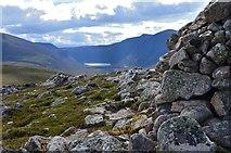 NH9305 : Gleann Eanaich from Carn Eilrig summit by Jim Barton