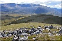 NH9305 : South from Carn Eilrig summit by Jim Barton