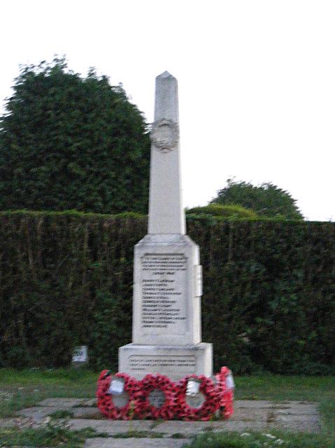 Bressingham War Memorial