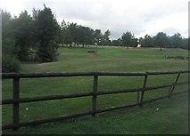 SU6154 : Weybrook Park golf course by Sandy B
