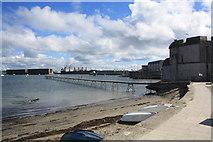 SY6874 : Portland Harbour by John Stephen