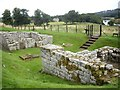 NY9170 : East Gate ruins, Cilurnum by Stanley Howe
