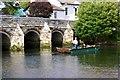 SZ1692 : Bridge over River Avon, Christchurch by Paul Buckingham